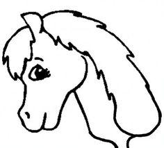 236x213 Horse Head Silhouette Clip Art Birthday Party Games