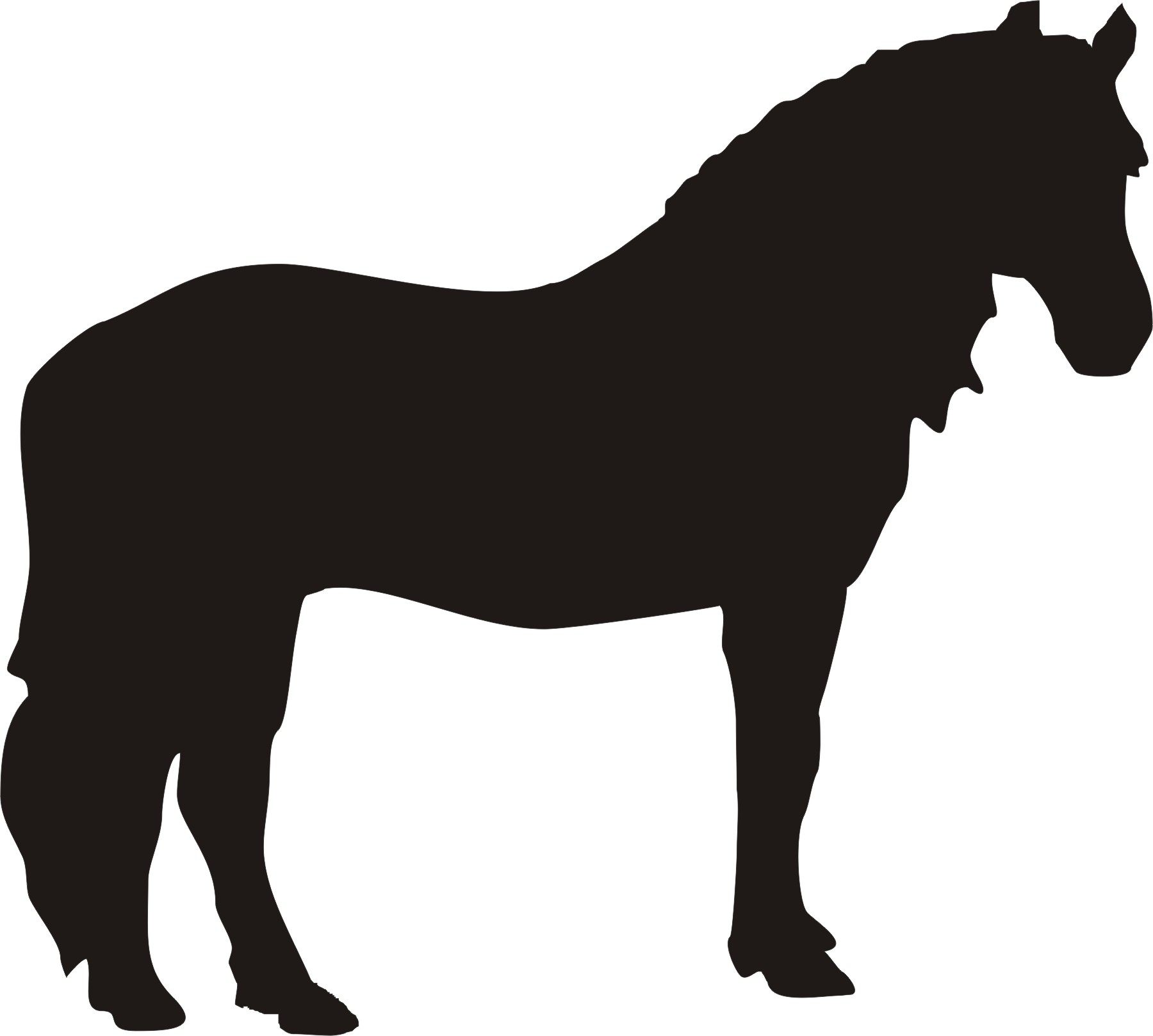 horse head silhouette clip art free at getdrawings com free for rh getdrawings com clip art horses and riders clip art horseshoe template