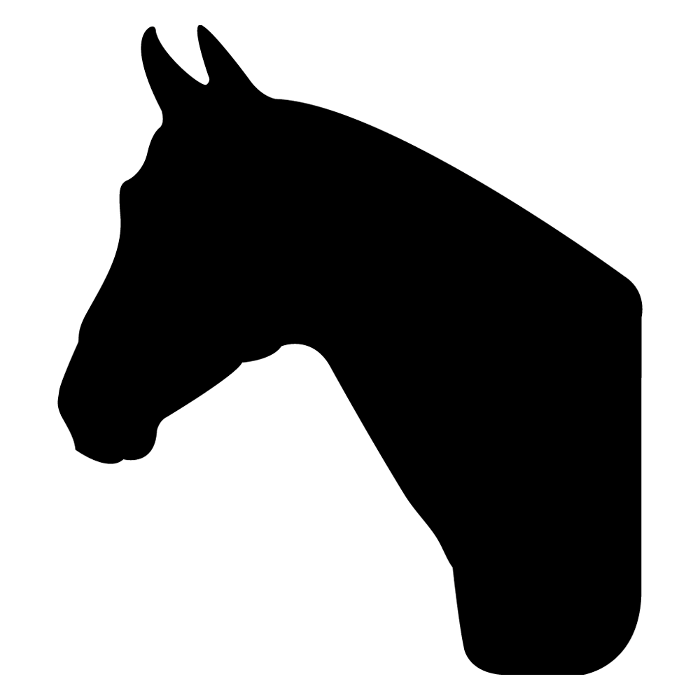 horse head silhouette free at getdrawings com free for personal rh getdrawings com horse head clip art silhouette horse head clipart silhouette
