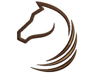 340x270 Horse Embroidery Design Horse Head Embroidery Design Horse