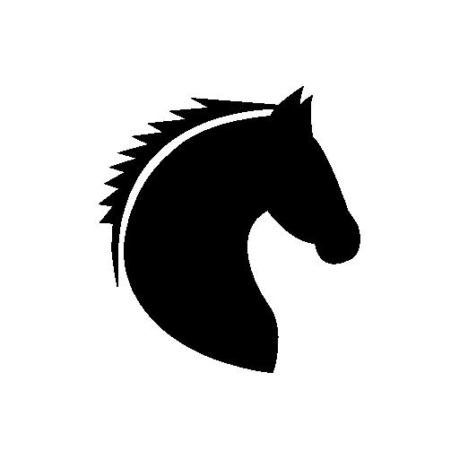 512x512 Horse Head Icon
