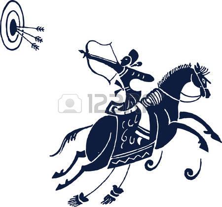 450x419 Revolutionary War Horse Silhouette Clipart