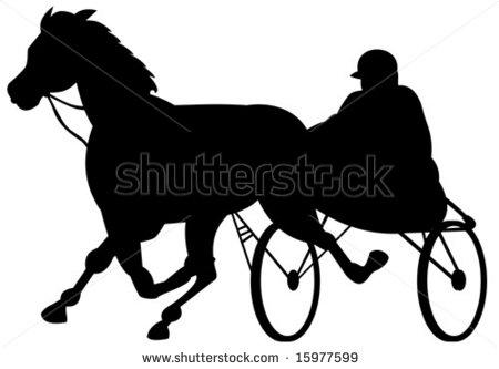450x333 Horse Racing Clipart Harness Racing
