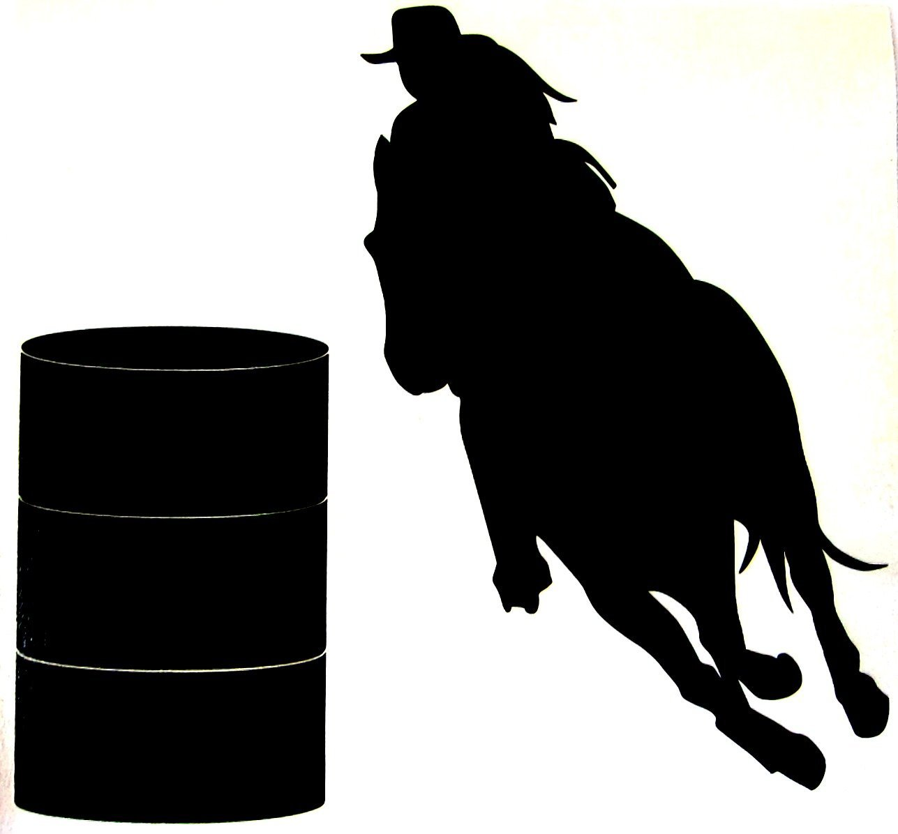 horse racing silhouette at getdrawings com free for personal use rh getdrawings com  barrel racing pictures clip art