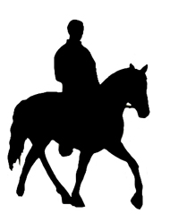 190x248 Horse Silhouette