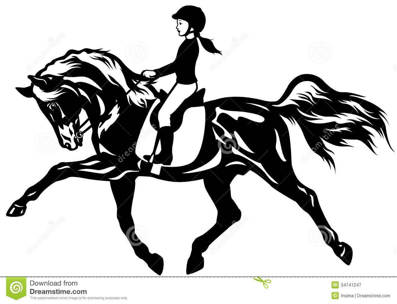 1300x995 Horseback Riding Clipart English Collection