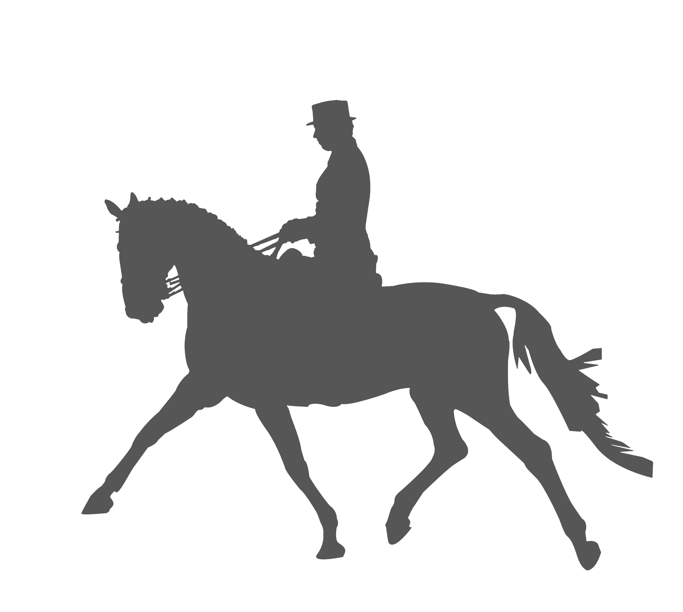 2292x2053 Horse Equestrianism Dressage Silhouette Clip Art