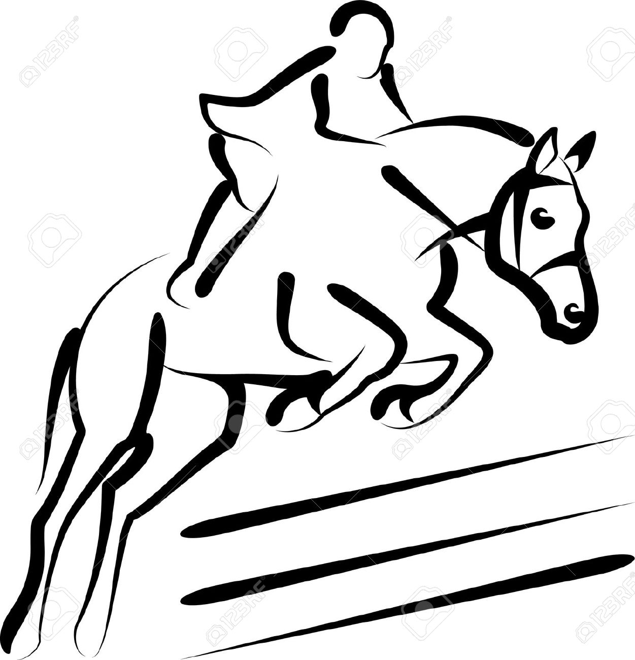 1251x1300 Horse Riding Clipart Horse Jumping