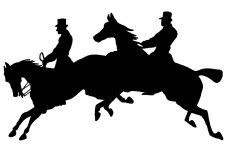 225x150 Horse Silhouette Clip Art ~ Karen's Whimsy