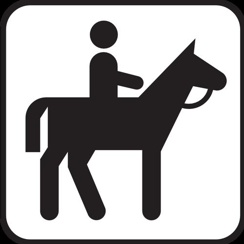 500x500 7054 Horse Riding Silhouette Clip Art Public Domain Vectors