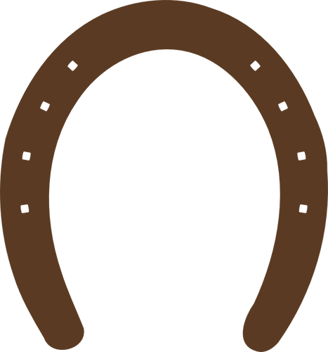 467x500 Horseshoe Silhouette Vector Graphics Public Domain Vectors