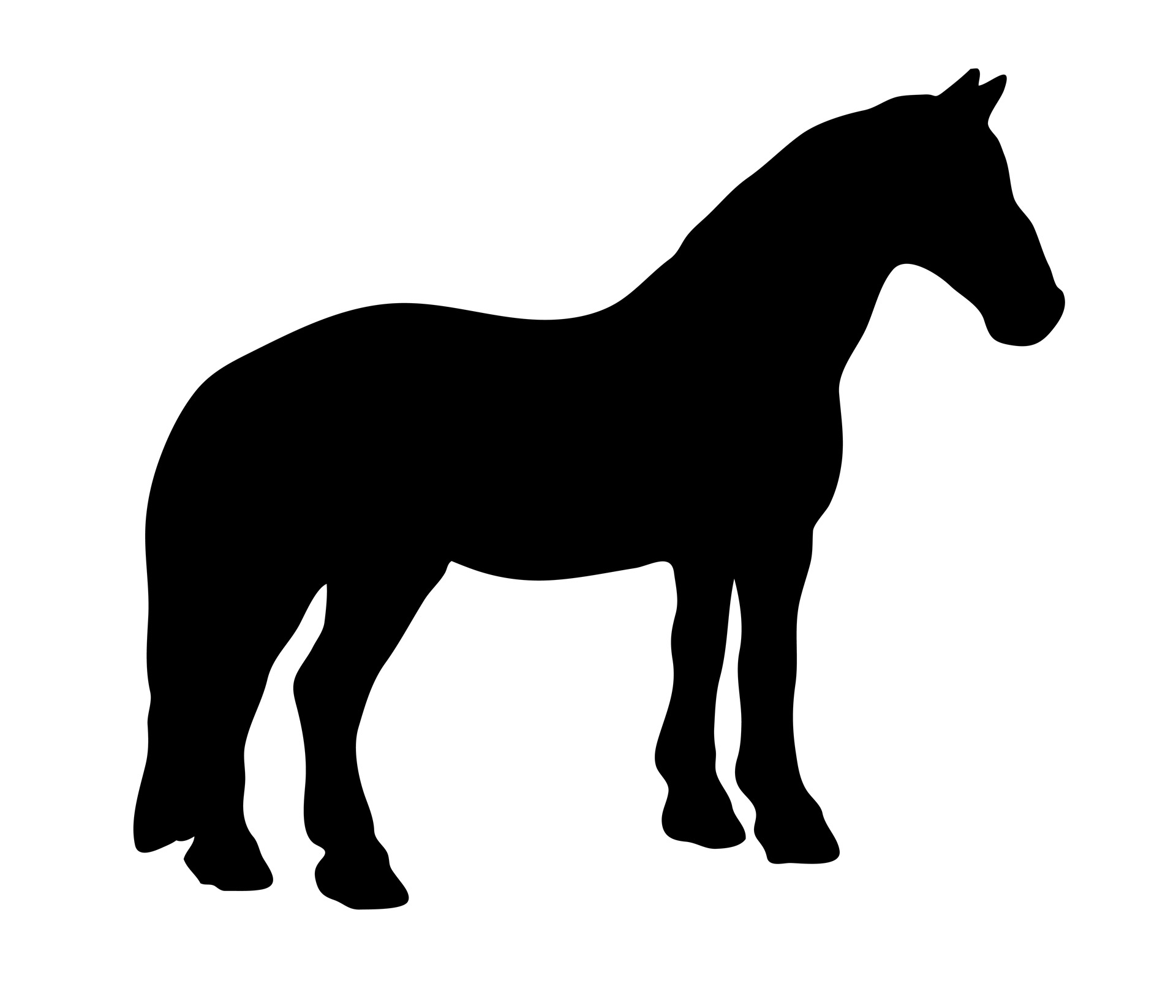 horse silhouette clip art at getdrawings com free for personal use rh getdrawings com horse clipart pictures horse clip art svg