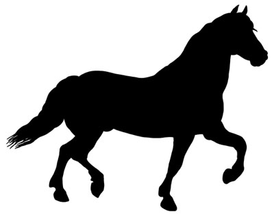 horse silhouette clipart at getdrawings com free for personal use rh getdrawings com clip art of horse racing clip art of horses heads