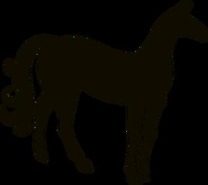 300x267 7198 Running Horse Silhouette Clip Art Free Public Domain Vectors