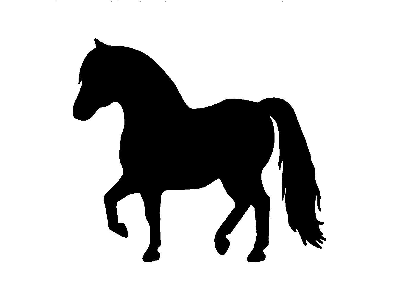 1320x1020 Miniature Horse Metal Steel Not Painted 7 Inch Usa Silhouette Two