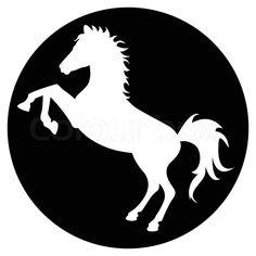 236x236 Fairy Set Of Fine Unicorn Silhouettes