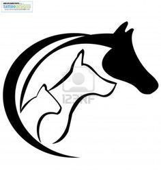 236x248 Horse Silhouette