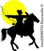 Horseman Silhouette