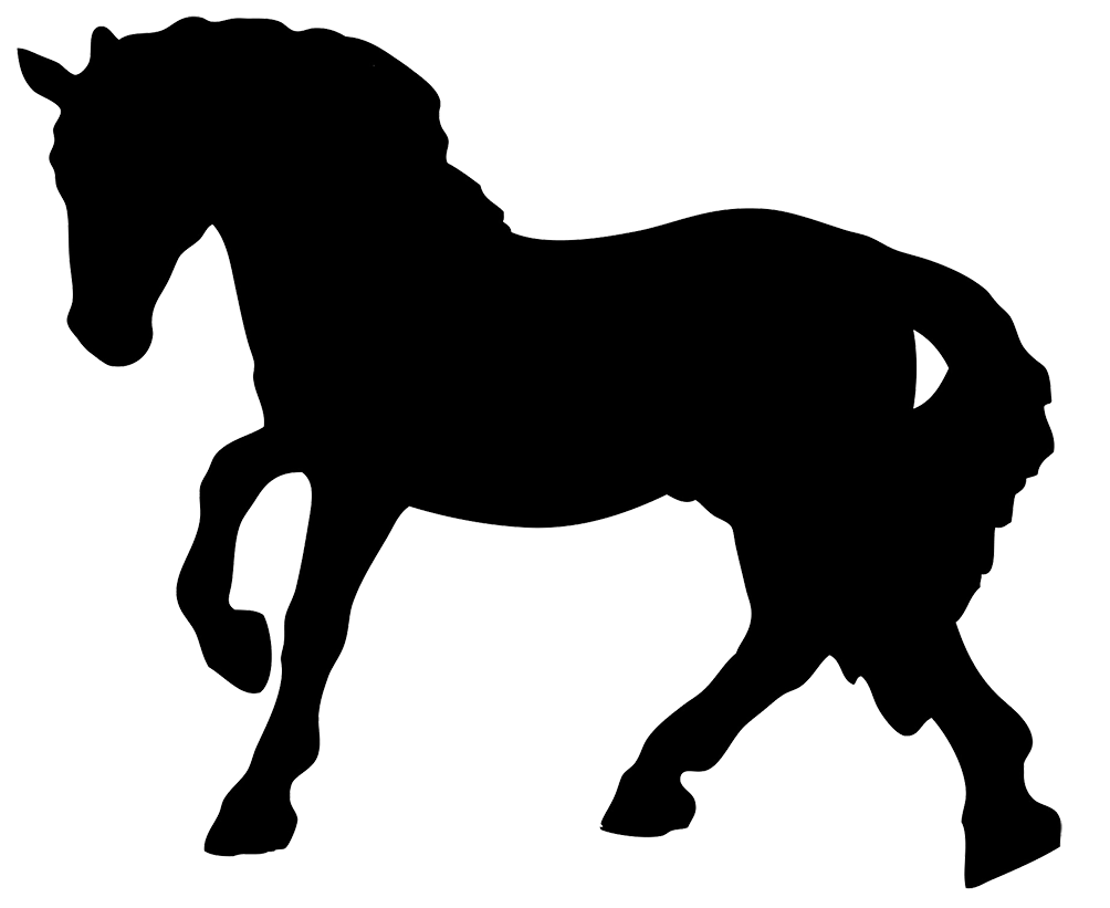 1004x821 Black Horse Silhouette Clipart Cakes