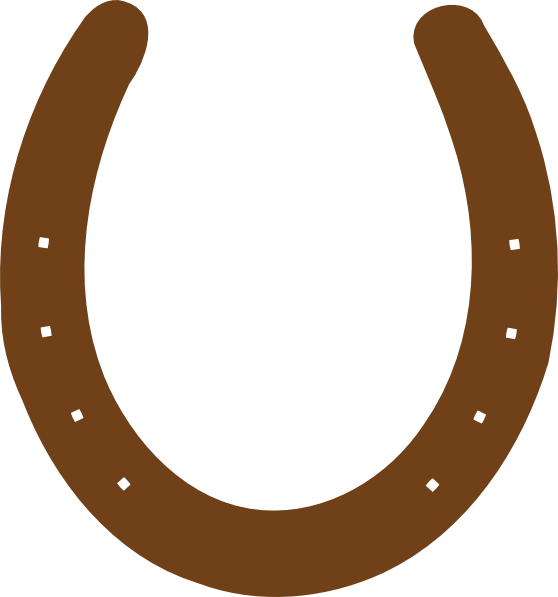 558x597 Horseshoe Silhouette