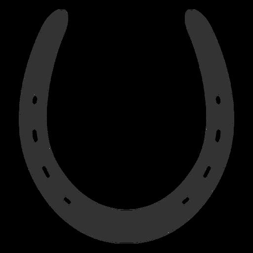 512x512 Common Horseshoe Silhouette