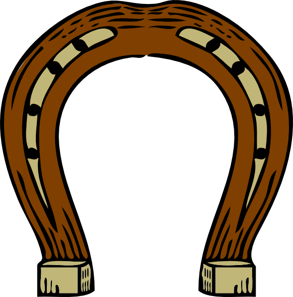 588x596 Best Horseshoe Clip Art