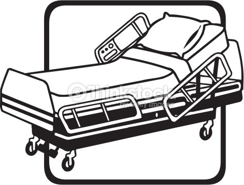 hospital bed silhouette at getdrawings com free for personal use rh getdrawings com hospital bed clipart free boy in hospital bed clipart