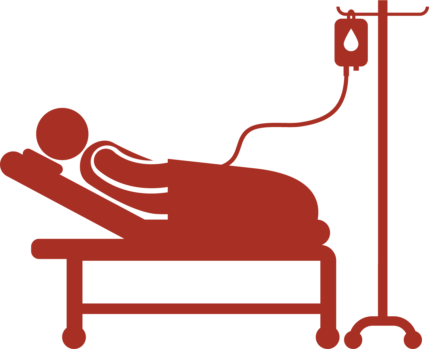 1402x1142 Hospital Bed Patient Icon