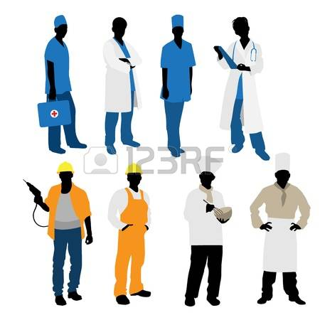 450x450 Hospital Workers Clipart