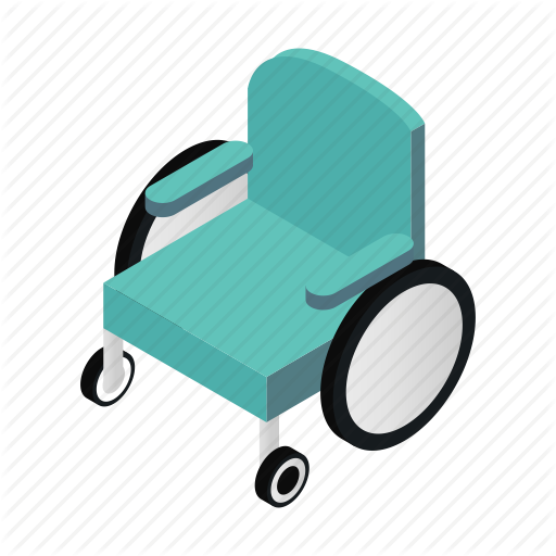 512x512 Carriage, Handicapped, Hospital, Isometric, Move, Silhouette