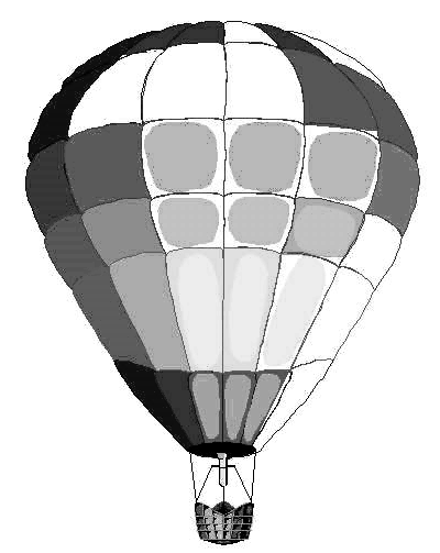 Hot Air Balloon Silhouette