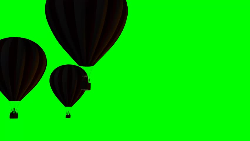 852x480 Hot Air Balloons Beautiful Silhouette
