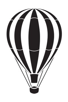 236x354 Hot Air Balloon Silhouettevector Tactile Light Graphics