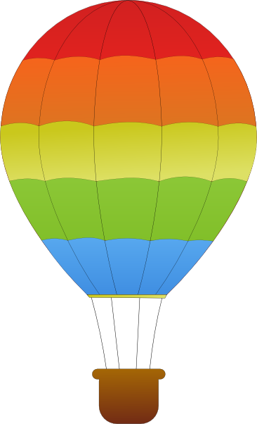 366x602 Hot Air Balloon Basket Vector Free Clipart Images Image