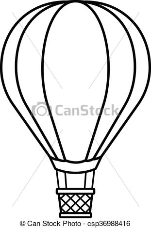 311x470 Hot Air Balloon Cartoon To Crayon. Hot Air Balloon Cartoon