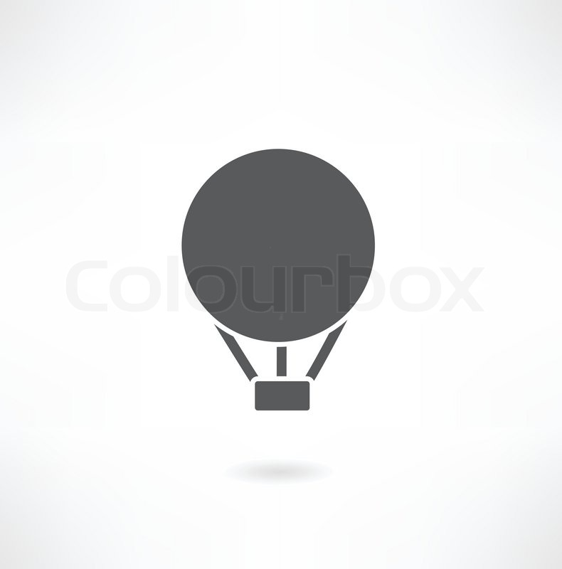 790x800 Hot Air Balloon Icon Stock Vector Colourbox