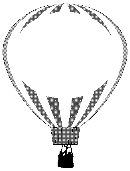 456x598 Clue Hot Air Balloon Outline Silhouette Clip Art Vector Free