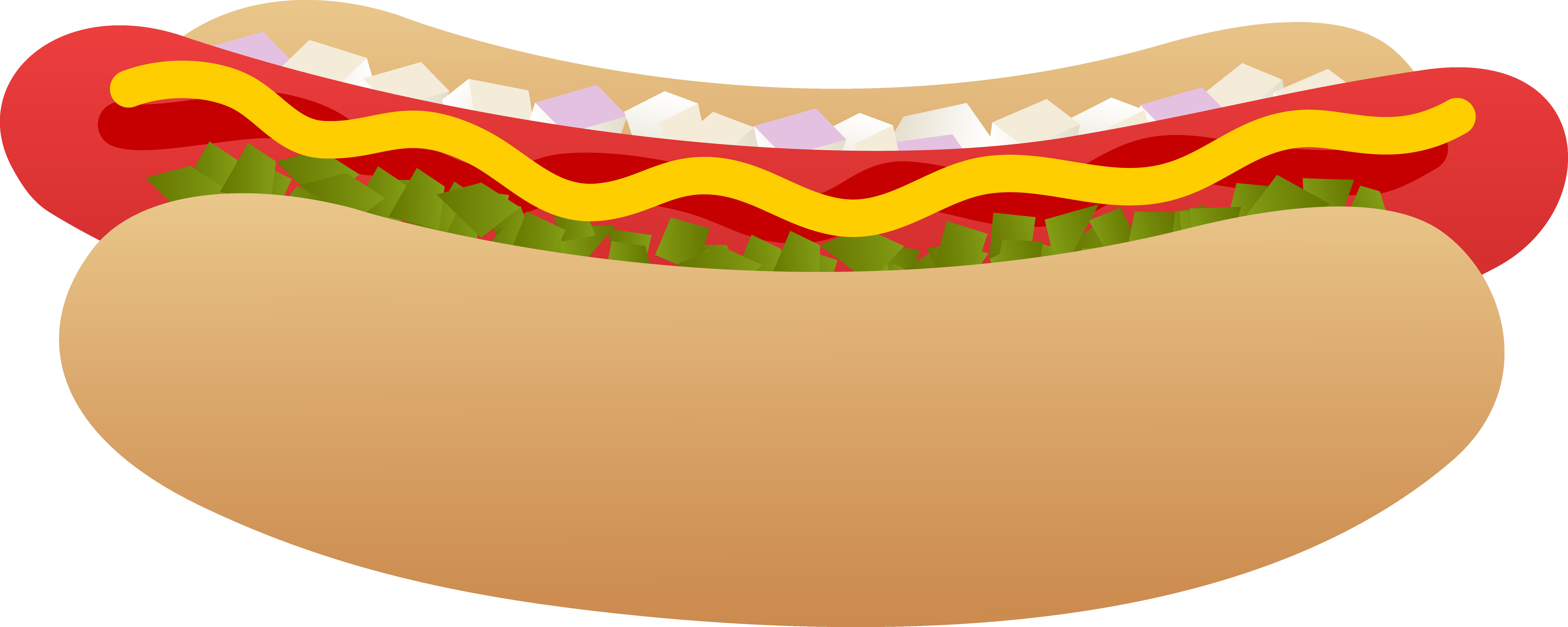 7846x3137 Clipart Of Corn Dog