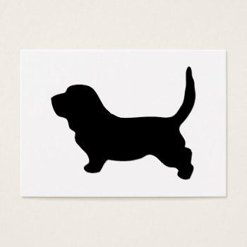 350x350 Hound Dog Art Business Cards Business Cards 100