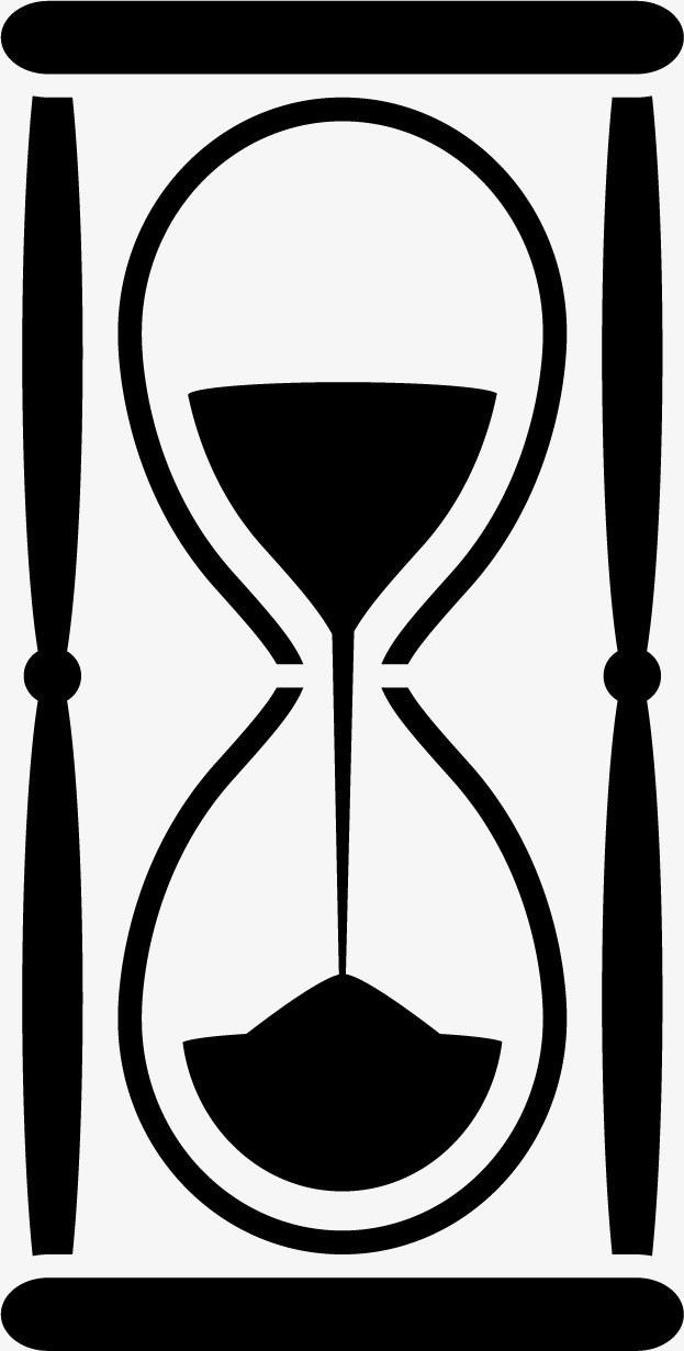 623x1231 Hourglass Silhouettes, Hourglass, Time, Timing Png And Vector
