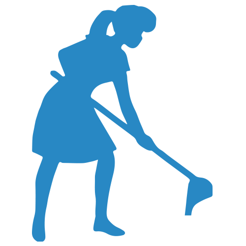 House Cleaning Silhouette At Getdrawings Com Free For