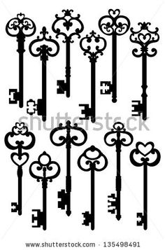 236x357 Antique Skeleton Keys Skeletons, Key And Tattoo