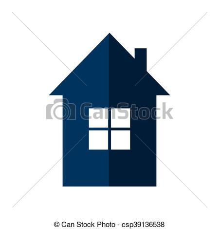 450x470 Home House Silhouette Icon. Vector Graphic. Home House Vectors