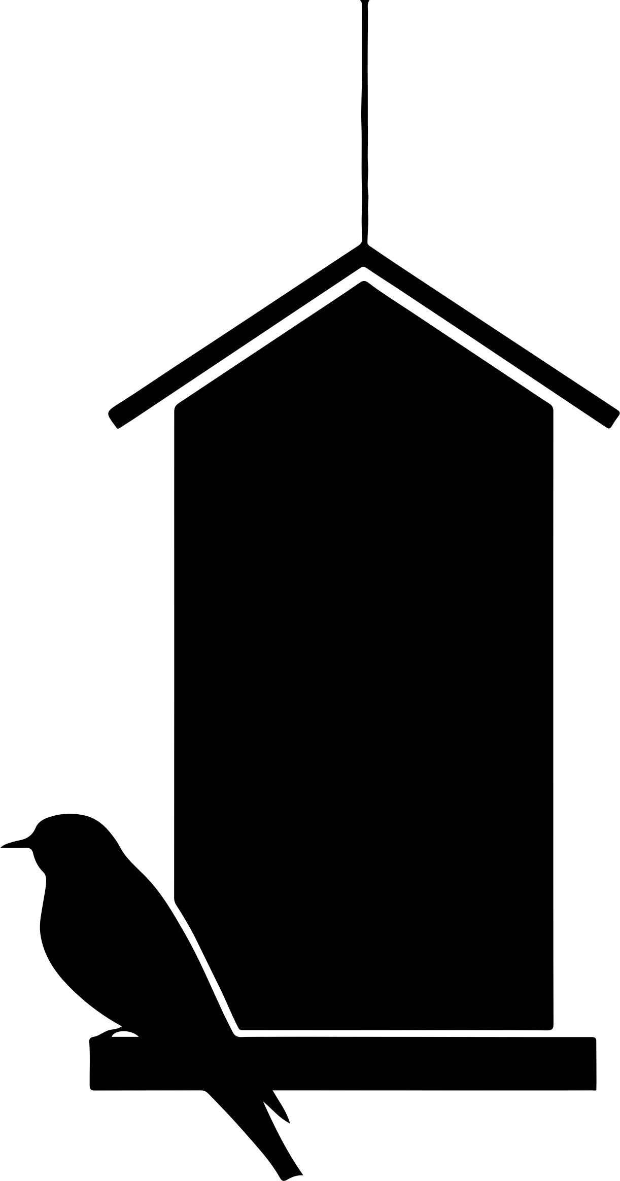 1222x2328 Bird House Silhouette Icons Png