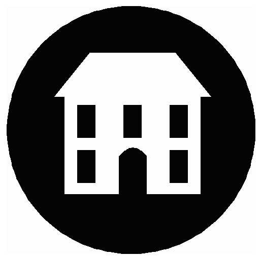 516x509 Schoolhouse Silhouette Clipart