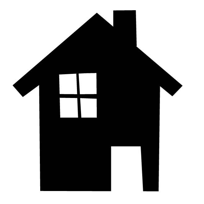 660x660 House Silhouette Image