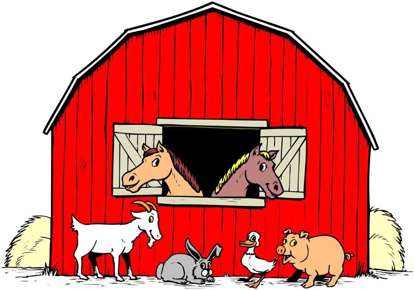 1367x957 Super Idea Farm House Clipart