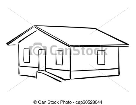 450x347 Vector Small House