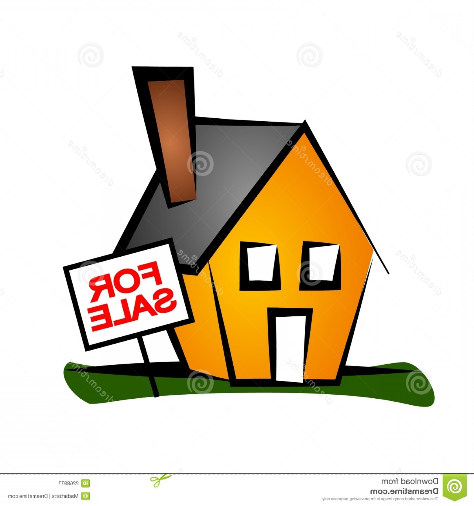 1560x1668 Yard Sale House Silhouette Vector Lazttweet