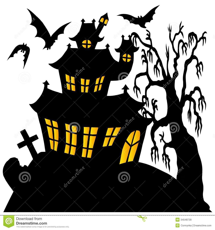 1300x1389 Clip Art Spooky House Clip Art